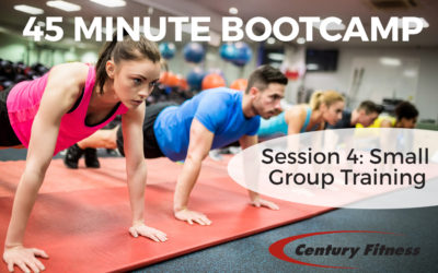45 MINUTE BOOTCAMP – Session 4: Small Group Training with Lindsay
