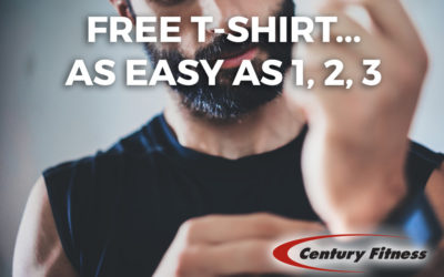 FREE T-Shirt…Easy as 1, 2, 3