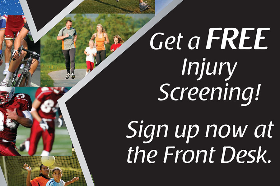 Injury Screening and Prevention