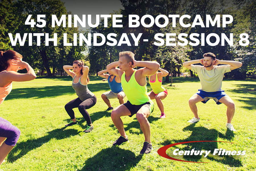 45 Minute Bootcamp with Lindsay- Session 8