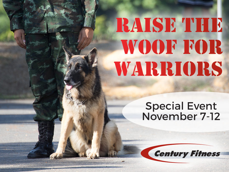 Raise the Woof for Warriors – Special Event November 7-12