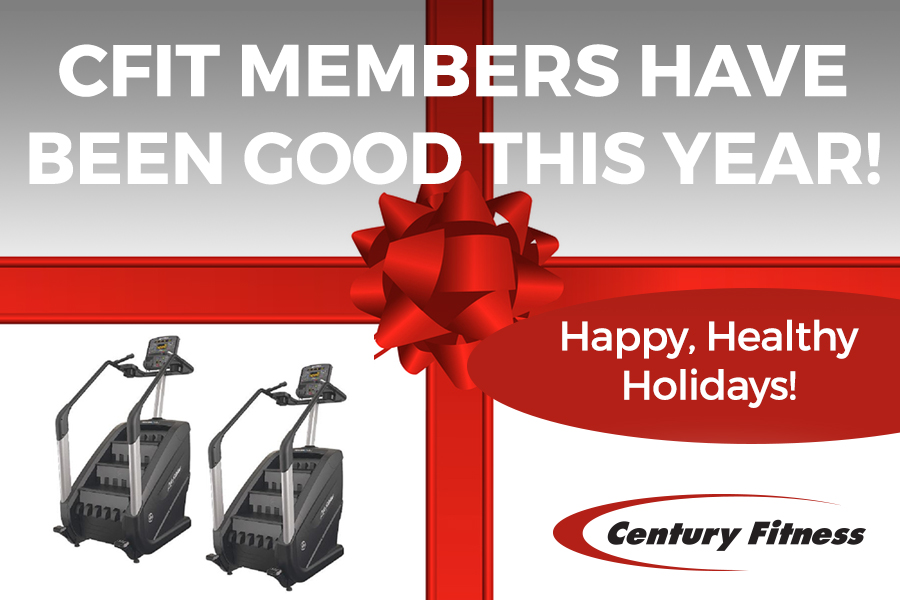 Century Fitness Members have been good this year!
