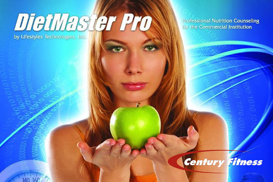 Century Fitness uses DietMaster Pro, the highest rated Nutrition Software available to fitness clubs and health facilities