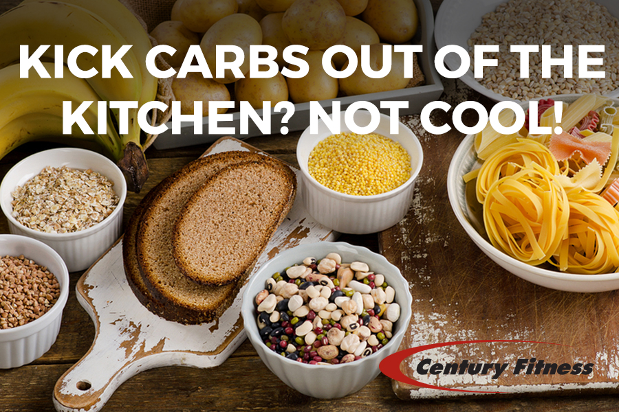 Kick Carbs out of the Kitchen? Not cool!